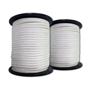 Apneatec Apnoe Competition-Leine 12 mm weiß