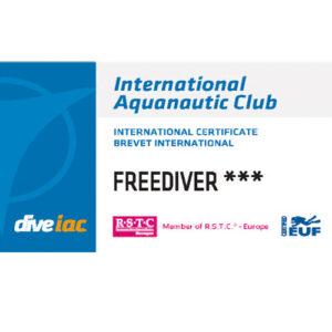 IAC Freediver Level 3